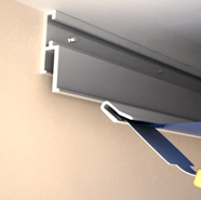 Aluminum Profiles For Stretch Ceilings