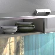 Furniture profiles  - system (analog Raumplus, Comandor) for sliding door wardrobes