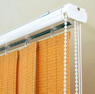 Profiles for vertical blinds